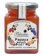 Confitura Palmelita - Papaya – Naranja - Diet 335 g
